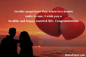 Marriage Congratulations Message Index Of Wedding