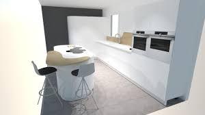 meuble cuisine arrondi plan de travail bar arrondi cuisine ilot central arrondi evier