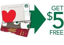 5 gift card starbucks 5 gift card
