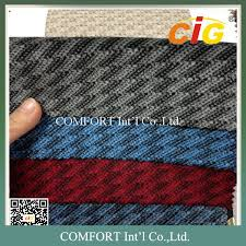 Automobile Upholstery Fabric 220gsm Auto Upholstery Fabric 100 Polyester Jacquard Car Seat