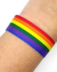 bracelet rainbow images Rainbow ribbon bracelet jpg