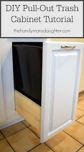 Kitchen Cabinet Trash 25 Best Kitchen Trash Cans Ideas On Pinterest Hidden Trash Can