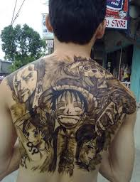 one piece compass tattoo 35 awesome one piece tattoos for the straw hat pirates tattoo