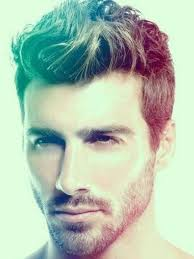 mens messy wavy hairstyle short on sides and long on top hair mens