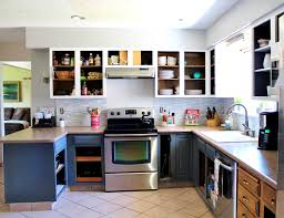 kitchen cabinet appealing grey and white kitchen makeover
