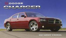 2009 dodge charger owners manual dodge charger manual ebay