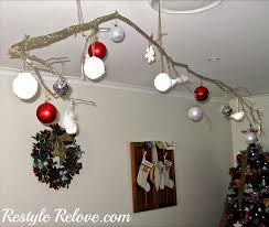 hanging ornament tree branch
