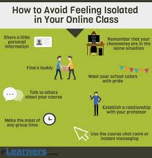 tips class online 9 ways to avoid feeling isolated in your online class