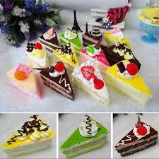 online cheap christmas gifts cartoon ice cream cake model fake
