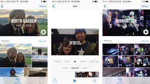 inside ios 10 photos memories will generate slideshow movies