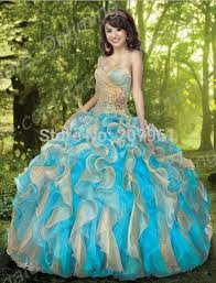 dresses for sweet 15 aliexpress buy gown blue quinceanera dresses 2016