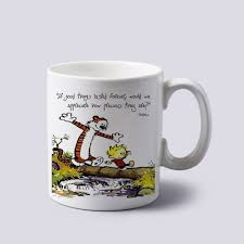 calvin and hobbes mugs if good things lasted forever coffee mugs