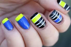 16 striped nail art ideas