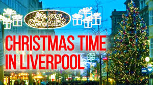 the uk today liverpool city centre at christmas time