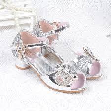 princess wedding shoes aliexpress buy summer children princess sandals bownot