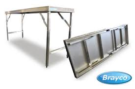 stainless steel folding table folding tables dining tables gumtree australia stirling area