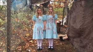 the shining twins on halloween youtube