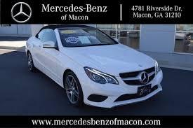 mercedes e class cabriolet for sale used 2014 mercedes e class for sale macon ga