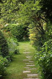 stone path ideas we this deck down to the yard with a winding garden stone pathway ideas061 kindesign