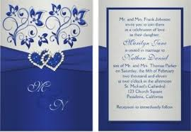 wedding invitations blue royal blue wedding invitations plumegiant