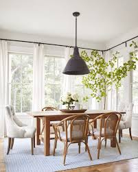 curtain ideas for dining room modern home design