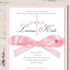 communion invitations for girl girl communion invitation girl by libbykatesmiles