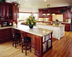 show me kitchen cabinets ideas for natural wood cabinets and floors should they match show me