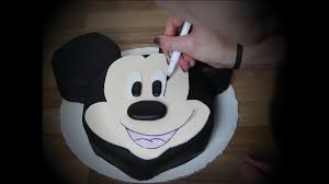 Mickey Mouse Cake Topper Tutorial Mickey Mouse Minnie Doc