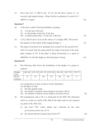 icse 2017 mathematics class x sample question paper 10 years