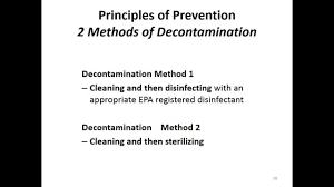 cosmetology chapter 5 infection control youtube