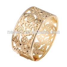 wholesale butterfly hollow design gold bangles designs kx
