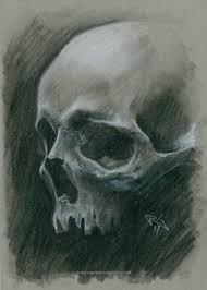 sketching skulls again the illustrative art of richard schouten