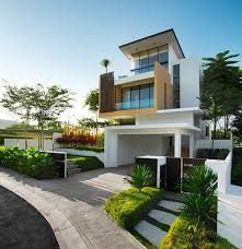 Home Exterior Design India Residence Houses by Exterior Designs Home Design Ideas
