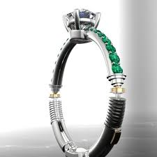 wars wedding bands wars inspired lightsaber engagement ring geektyrant