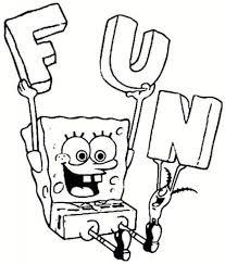 spongebob printable coloring pages regarding encourage in coloring