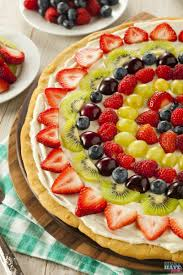 Flag Fruit Cake The Best Fruit Pizza Recipe Made From Scratch Must Have Mom
