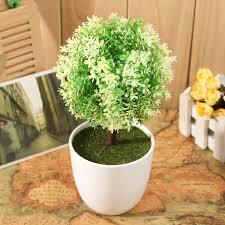 Artificial Tree Home Decor Artificial Topiary Buxus Tree U0026 Ball Plants Pot Garden Home Decor