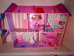 homemade lalaloopsy doll house dollhouse lalaloopsy lulu u0027s