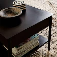metalwork coffee table rolled steel finish west elm au