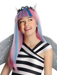 amazon com monster high rochelle goyle wig toys u0026 games