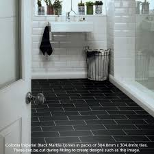 colonia imperial black marble 4515 polyflor