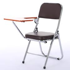 Folding Student Desk Chair by Modern Fashion Staff Training Chair With Writing Board Folding
