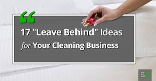 cleaning ideas 17 delightful leave behind and gift ideas for your cleaning clients