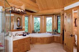 log home master bath designs log free printable images house