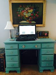 Chalk Paint Desk by Diy My First Time Chalk Painting Coco For Beauty Blog