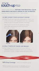 amazon com clairol u0027n easy root touch up 4g matches
