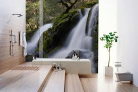 cool bathroom wallpaper gorgeous wallpaper ideas for your modern