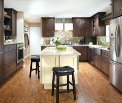 kitchen cabinets maple wood renovated kitchen with dark cherry and