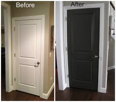 what color to paint interior doors black interior doors before and after door before and after my