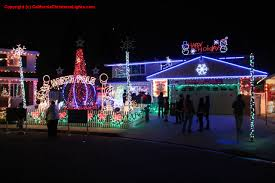 Crazy Christmas Light Show by Best Christmas Lights And Holiday Displays In Pleasanton Alameda